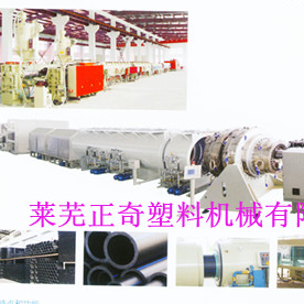 ZQSJ-15033 HDPE pipe production line