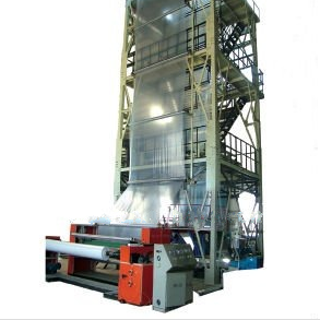 Greenhouse film blowing machine