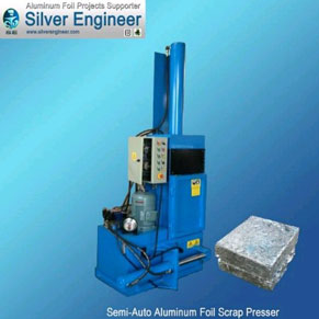 Automatic PLC Control Aluminum Foil Scrap System