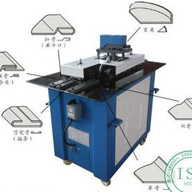 Square duct making machine