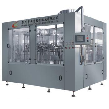 DCGF series balanced pressure filling 3-in-1 monobloc