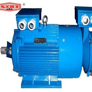 YR2 series (IP23) slip-ring three-phase asynchronous motors (frame size 160 to 400)