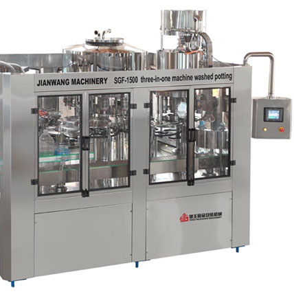 SGF Series Washing, Filling & Capping 3-in-1 Unit For Bottles-5L,6L and 7L