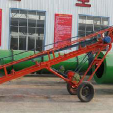 Large Conveying Capacity Comveyor Belt Machine For Grain