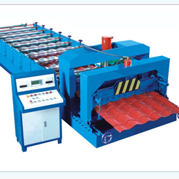 glazed tile roll forming machine (SL828-1035 )