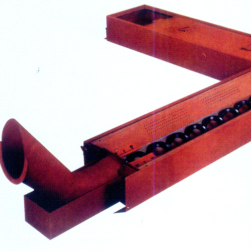 Chip conveyor(auger type)