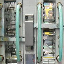 plastic spoon fork injection stacking mould