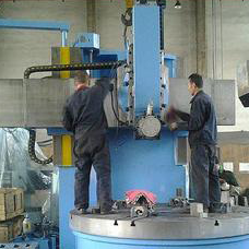 C series hub turning machine. hub making machine