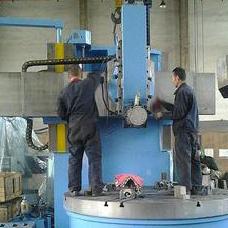 C series hub turning machine. hub making machine