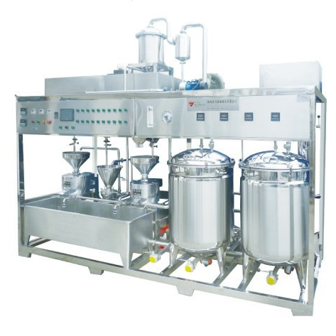 industry different capacity soybean milk and tofu(bean curd) producing machine