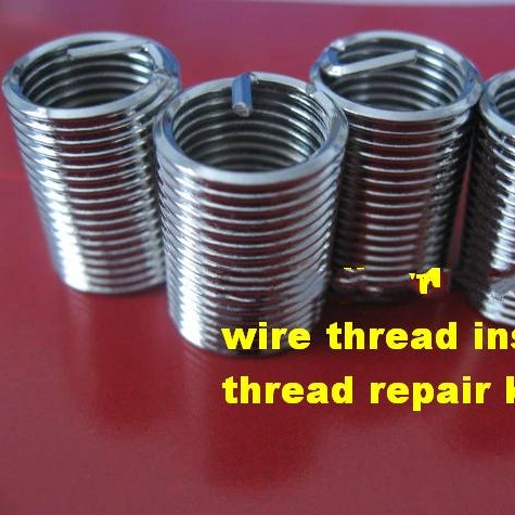 titanium alloy of insert 1/4-20 1.5Dhot sale wire thread insert