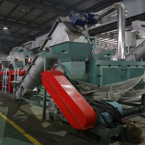 500kg/h pppe bottle recycling line