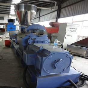 parallel twin screw granulator