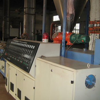 PVC SPECIALLY-SHAPED PROFILE EXTRUSION LINE