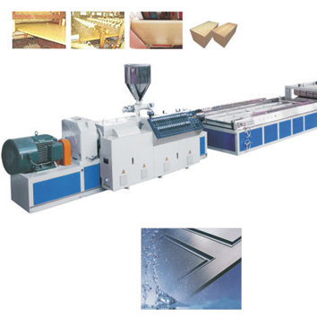SXJZ SERIES PVC WIDE DOOR PLATE EXTRUSION LINE