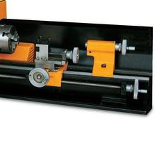 Variable aped mini lathe