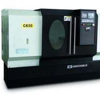 finely processed CNC lathe CK50