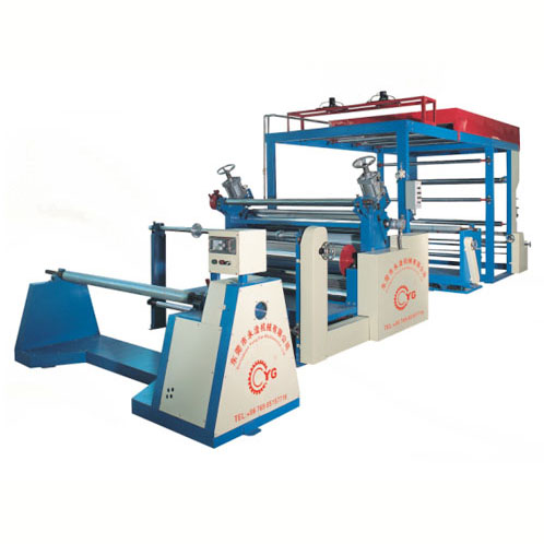 Synthetic Leather Coloring and Stamping Machine