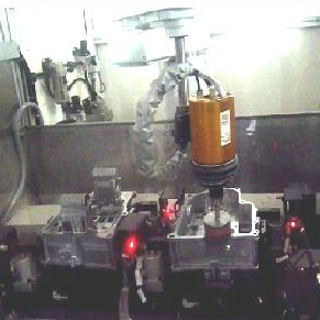 Deburring and grinding machine