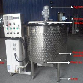 Juice Tank With Condensing Unit