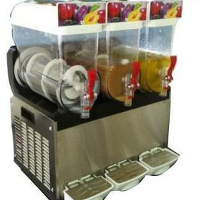 three thank commercial slush machine