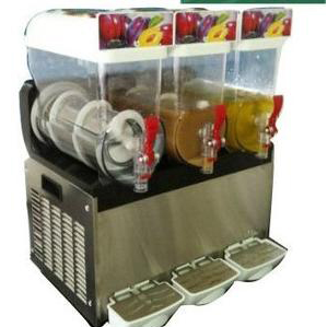 three thank commercial slush drink machine