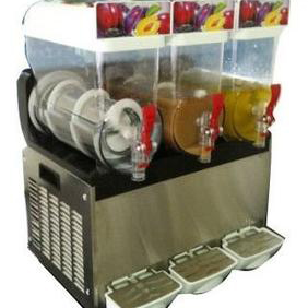 three 15L thank slush drink machine in China