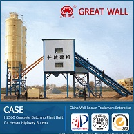 China Well-known Trademark HZS60 Concrete Batching Plant