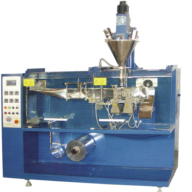 horizontal powder packaging machine type