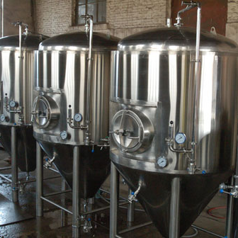 Tanque para fermentación de cerveza