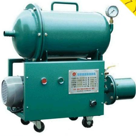 Serie GL portátil purificador de aceite de cocina