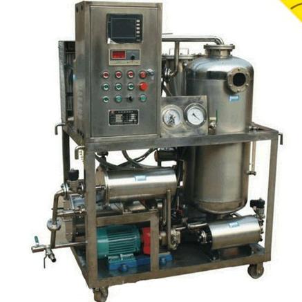Resistente al fuego filtración de aceite y purificadora de llenado