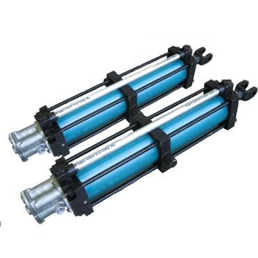 Industria del aluminio cilindro especial - Presión contra el tipo de caída