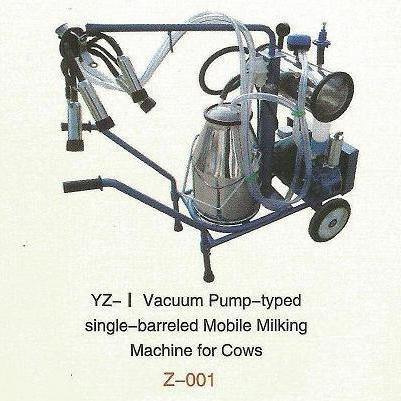 Advanced Moblie Ordeño Machine Pump-mecanografiado al vacío (solo barril)