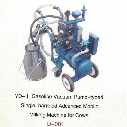Vacuum Pump-typed Advanced Moblie Milking Machine(gasoline/diesel)