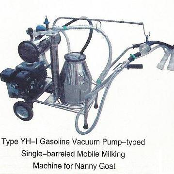 Nombre-Bomba de vacío de ordeño avanzada Moblie Máquina para Cabra