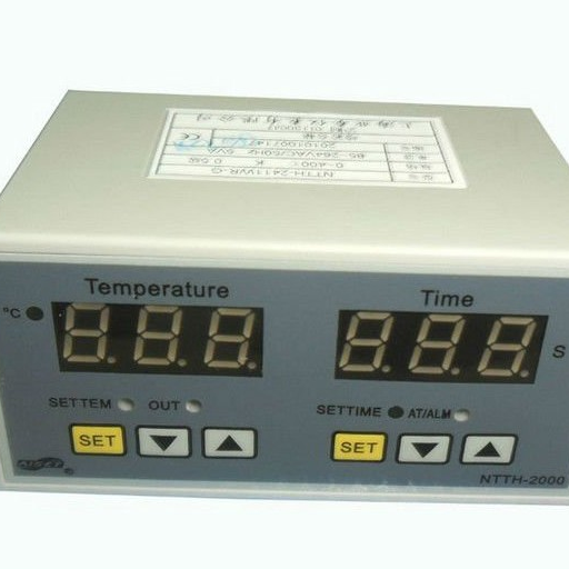 Hora digital y pantalla de temperatura Controlador