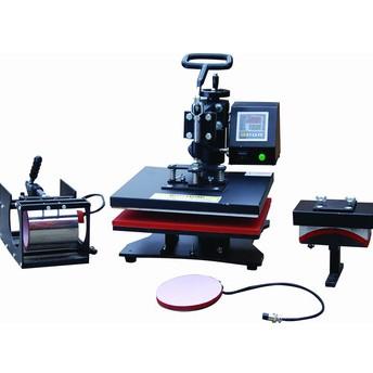 4en1 Combo prensa del calor de la máquina