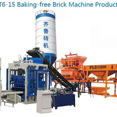 QT6-15 Блок машина производственная линия