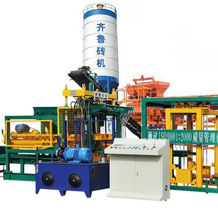 QT4-15 Блок машина производственная линия