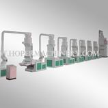 Cotton recycling machine