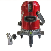 5 lines laser level with incline function