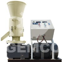 Small wood pellet mill for home use