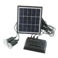 portable led solar home lighting system