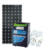 400W protable solar power generator
