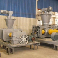 Chemical / mineral / fertilizer roll granulating machine