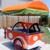 B4 Ice Cream Display Cart / Ice Cream Cart