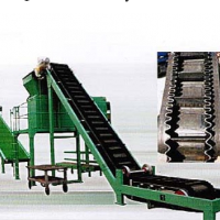 Big Dip Angle Belt Conveyor