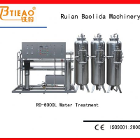6T/H Equipment of reverse osmosis for pure water