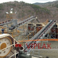 Vipeak manufacturer Belt conveyor of stone crusher for sale